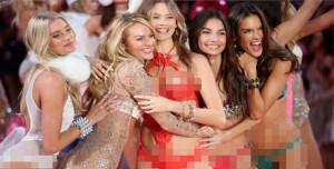 Model Seksi Victoria's Secret Berjoget di Pantai