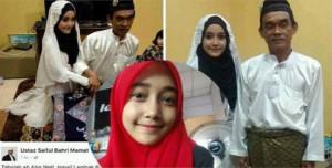 Kakek 63 Tahun Nikahi Gadis Berusia 18 Tahun