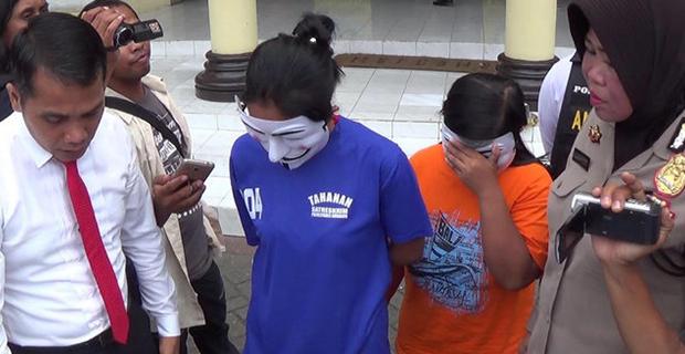 Saat Main Dihotel, 2 Wanita dan 1 Lelaki Berhasil Ditangkap