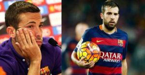 Laga Bermain Kurang, Alba Ungkap Keinginannya Tetap Bertahan di Barcelona