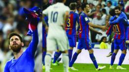 Messi Berikan Luka Mendalam Kepada Tuan Rumah Real Madrid dan Diganjar Kartu Kuning