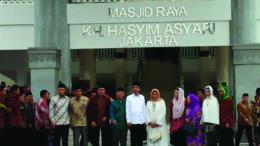 Pembangunan Masjid Raya KH Hasyim Asy'ari Diusung Jokowi dan Diselesaikan Oleh Ahok Pada Masa Jabatannya