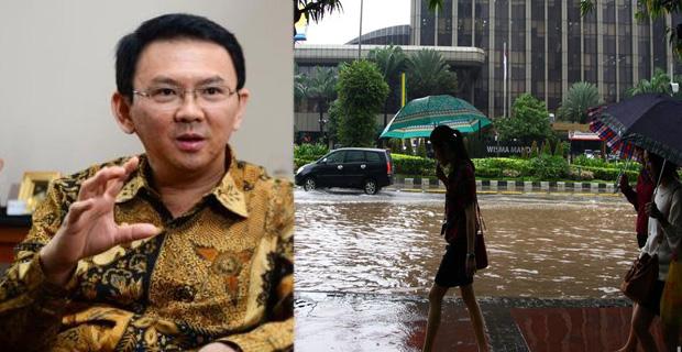 Ahok Siap Untuk Menuntaskan Permasalahan Sumbatan Pada Saluran Air di Jakarta
