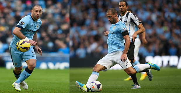 Manchester City Akan Melepas Pablo Zabaleta Setelah Habis Kontrak
