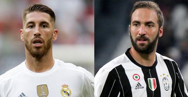 Ramos Akan Menjadi Lawan Higuain Dalam Pertandingan Antara Real Madrid Melawan Juventus