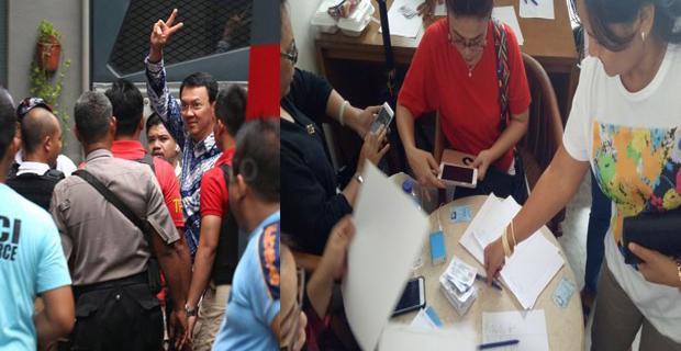 Rasa Solidaritas Warga Dalam Menggalang Foto KTP Untuk Penangguhan Penahanan Ahok