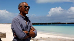 Kenangan Indah di Masa kecil Menghantarkan Obama Datang Bersama Keluarga ke Indonesia
