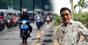 Pengendara Motor Mengamuk Ditrotoar Jalan, Djarot Bela Pejalan Kaki Yang Tertindas