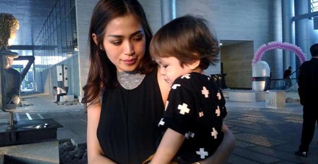 Anak Rewel, Jessica Iskandar punya Kiat Khusus Atasi El Barack