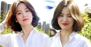 Gaya Penampilan Rambut Baru Song Hye Kyo Sebelum Menikah Buat Warganet Gregetan