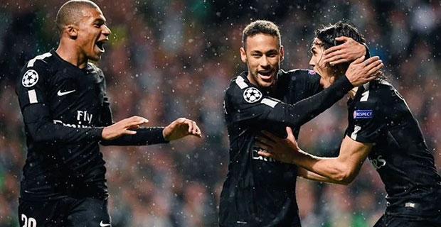 Hadirkan Neymar dan Mbappe, PSG Babat Habis Celtic Dengan Skor 5-0 di Liga Champions