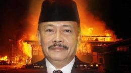 Kasus Pembakaran 7 Sekolah Di Palangka Raya Yang Ditenggarai Anggota DPR Diringkuk di Sel Mako Brimob