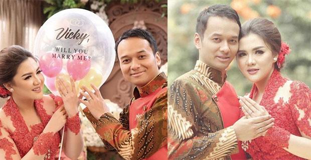 Siap Melepas Masa Lajang, Vicky Shu Segera Gelar Resepsi Pernikahan