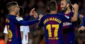 Barcelona Pesta Gol Dengan Skor 5-0 Tanpa Balas Dari Murcia