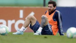 Dijadwalkan Pulang Lebih Cepat ke Barcelona, Messi Diistirahatkan