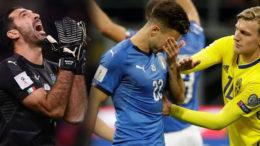 Kalah Agregat Dari Swedia, Timnas Italia Gagal Meluncur ke Babak Piala Dunia 2018