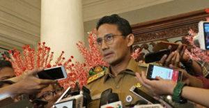 Lakukan Pembaruan, Sandiaga Akan Godok Kembali Penataan Trotoar Jakarta Seperti New York