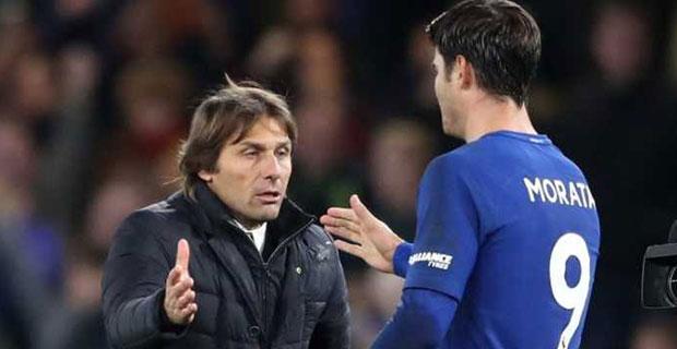 Sukses Sumbangkan Gol Kemenangan Chelsea, Conte Sebut Morata Bisa Lebih Berkembang