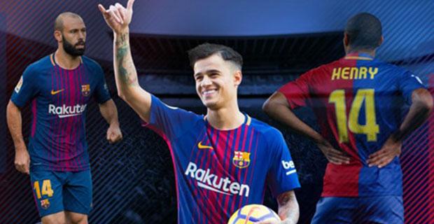 Segera Lakukan Debut Pertama, Philippe Coutinho Akan Pakai Nomor Punggung Ini di Barcelona
