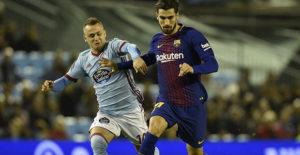 Tanpa Messi dan Suarez, Barcelona Tahan Imbang Celta Vigo 1-1