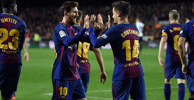 Debut Gol Coutinho Antar Barcelona Lolos ke Final Copa Del Rey