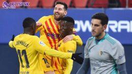 Barcelona Sudah mendingan, Koeman Layak Dipertahankan